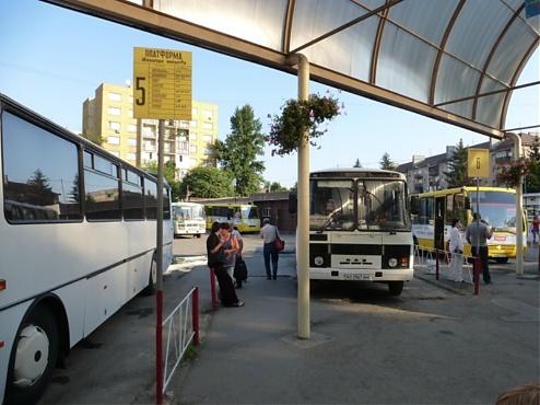 Výsledek obrázku pro užhorod autobusová stanica