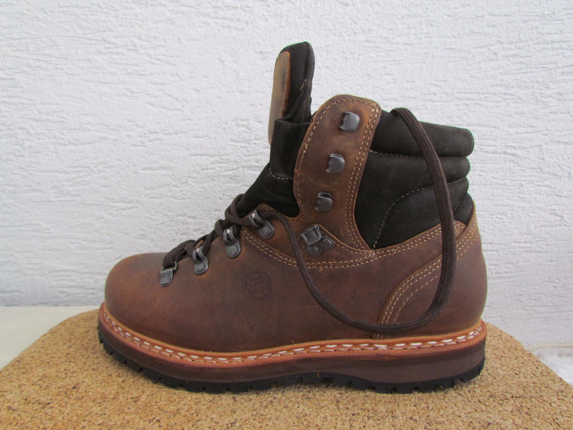 Test  Hanwag Bergler – celokožené topánky bez membrány  bb167c81c87