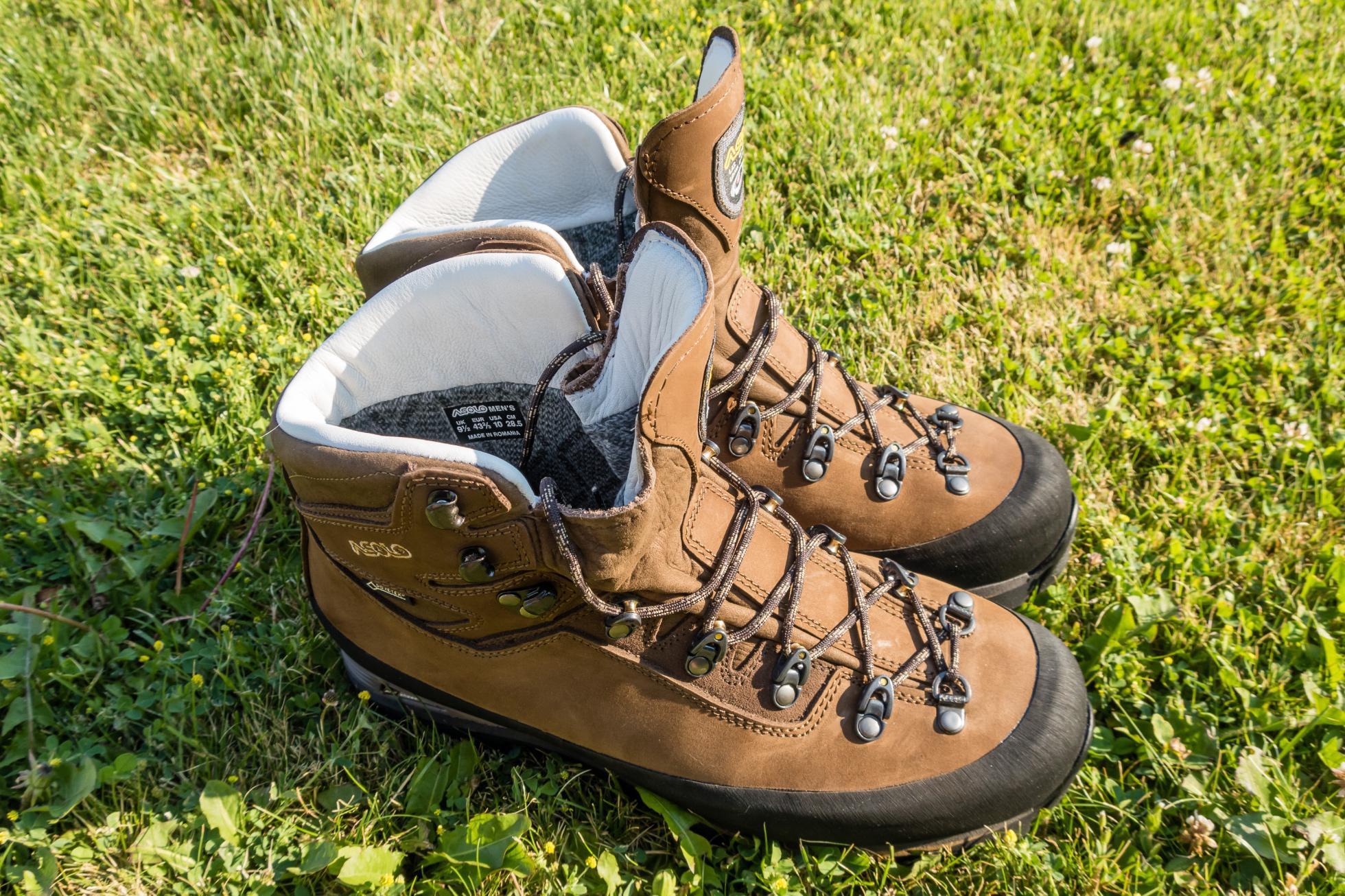 488968d9c3a4 Test  Asolo Kongur GV – celokožené turistické topánky