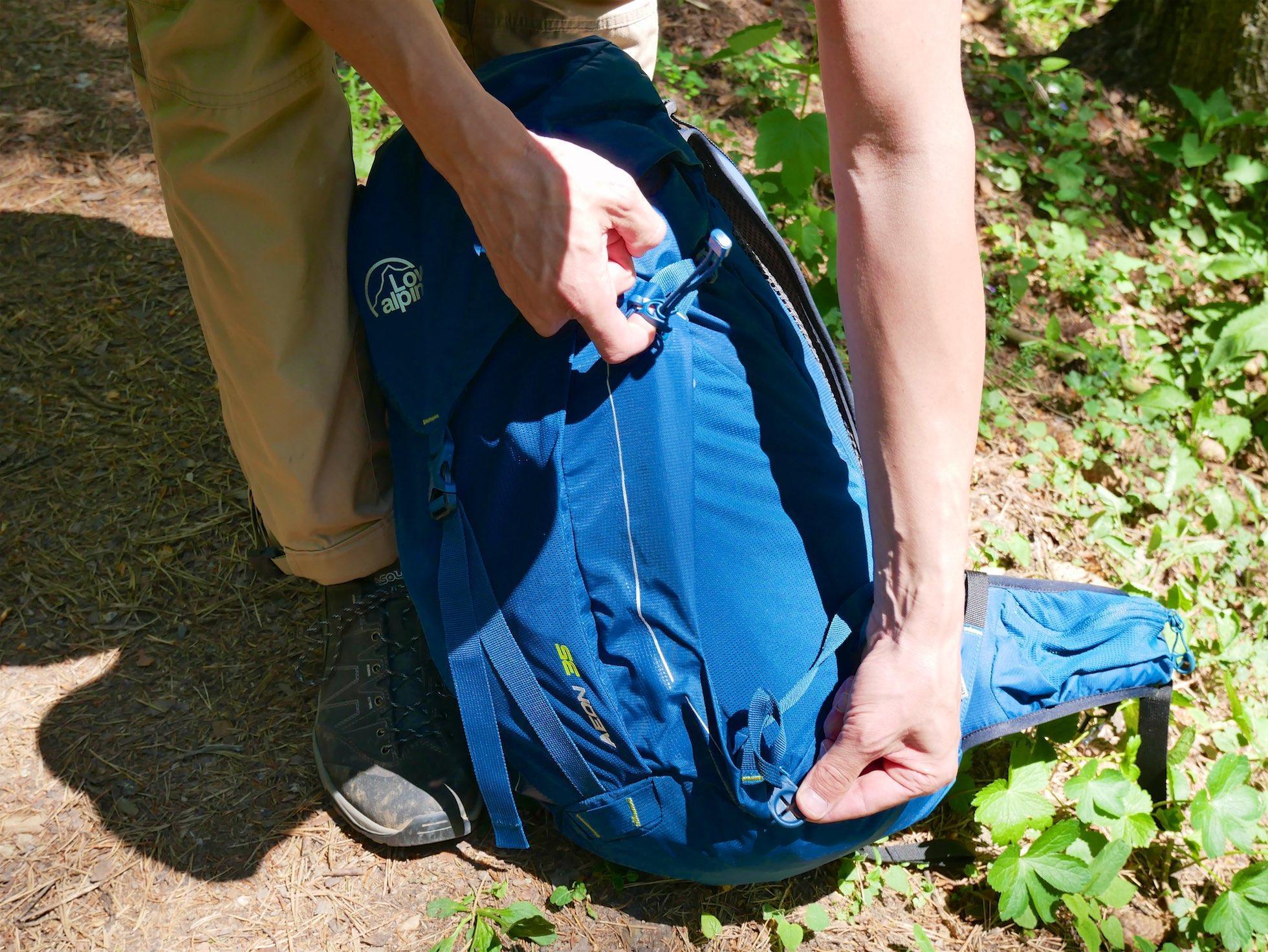 d312bdaff Recenzia: Lowe Alpine Aeon 35 – ľahký turistický batoh | HIKING.SK