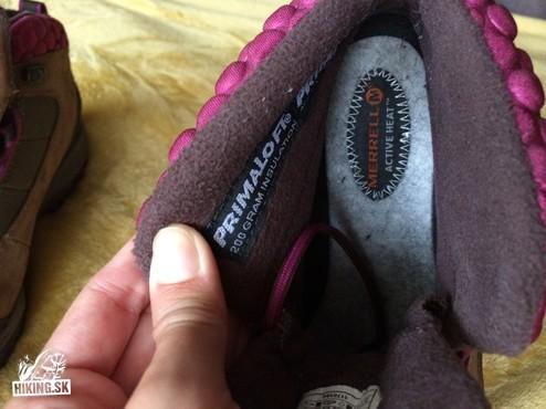 Predaj  Dámske zimné turistické topánky Merrell  258c43738f2